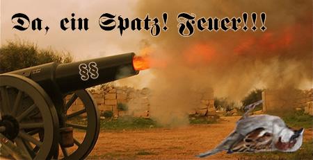 Kanonenspatz